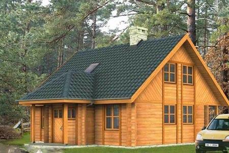 дома на основе деревянного каркаса г.Екатеринбург